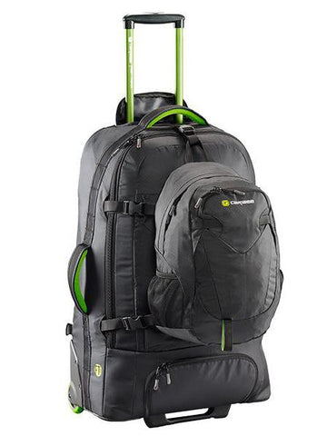 Caribee Fast Track 75L Wheeled Backpack - Black