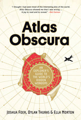 Atlas Obscura Travel Guide Book