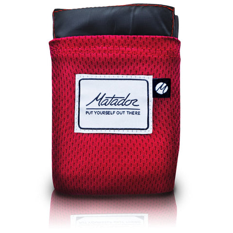 Matador Pocket Blanket - Red