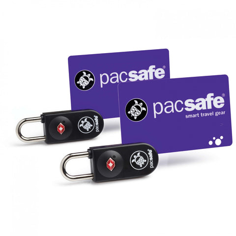 Pacsafe Prosafe TSA Approved Key-Card Lock 2 Pack