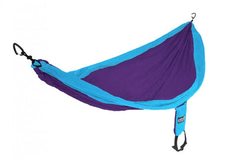 Eagles Nest Outfitters Single Nest Hammock - Purple/Teal