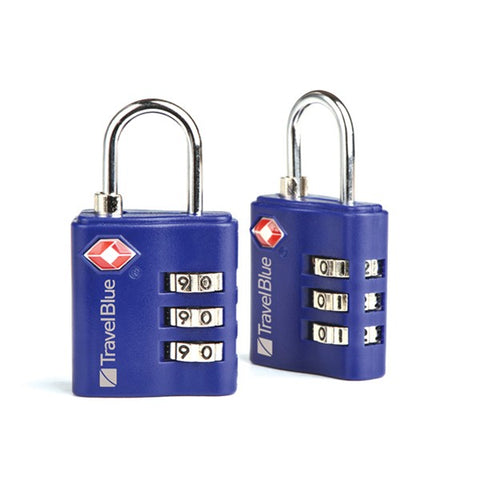 TSA Luggage Lock Twin Pack