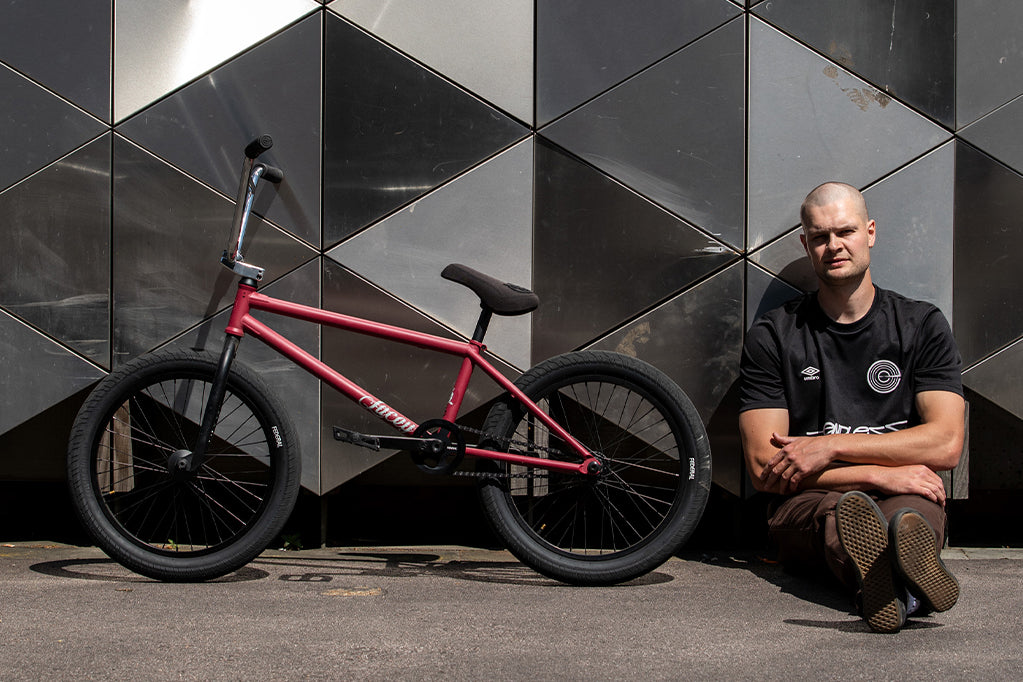 Billy Cooper - Welcome to the team & bike check