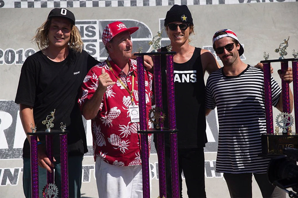 Boyd - 2nd at Vans Rebel Jam