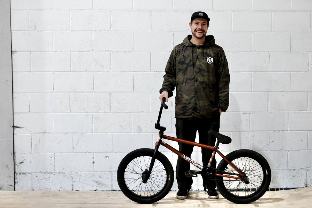 Kieran Cooper - Welcome to the team & bike check