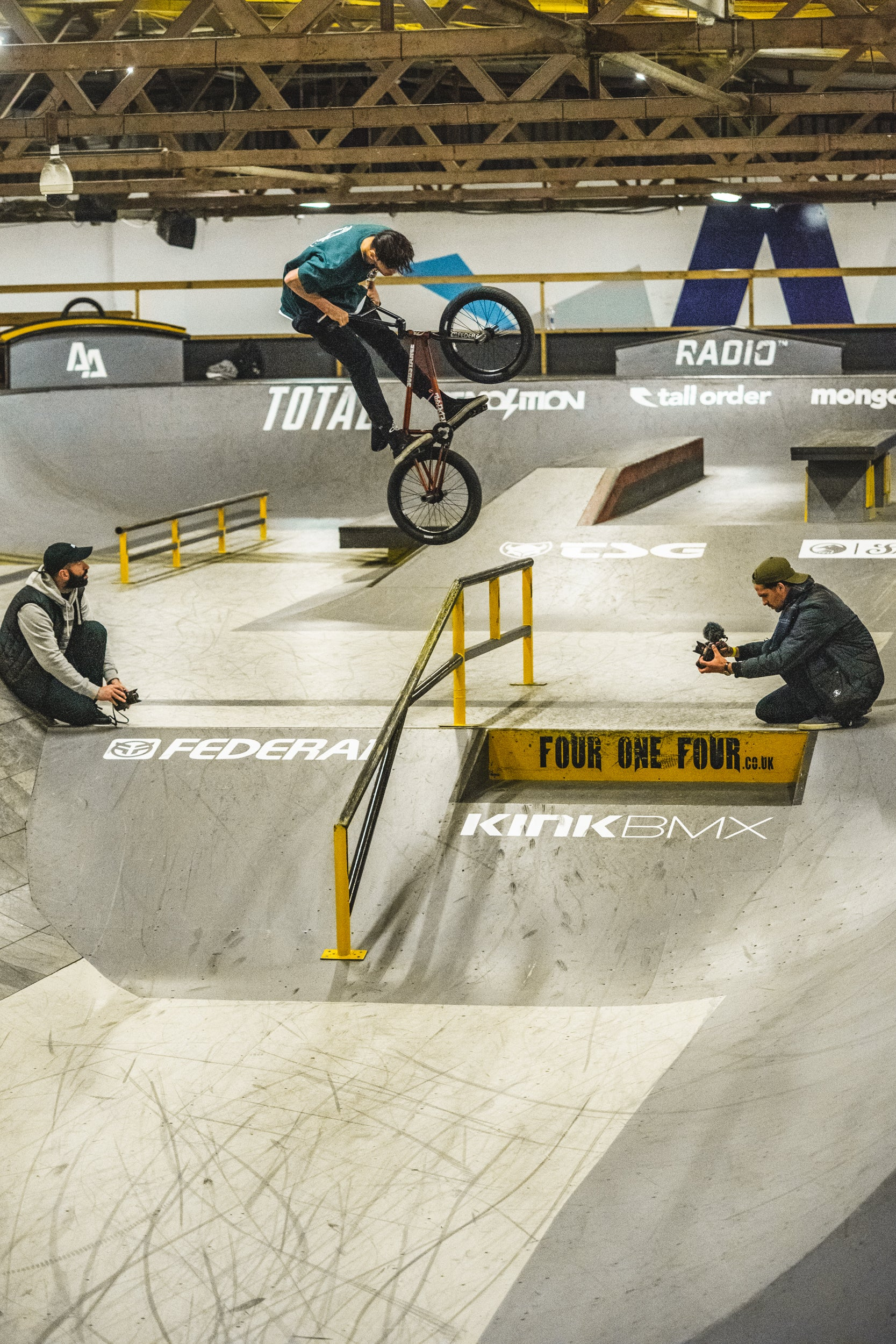 federal bikes bmx Joe Jarvis pegs over hard 360 corby