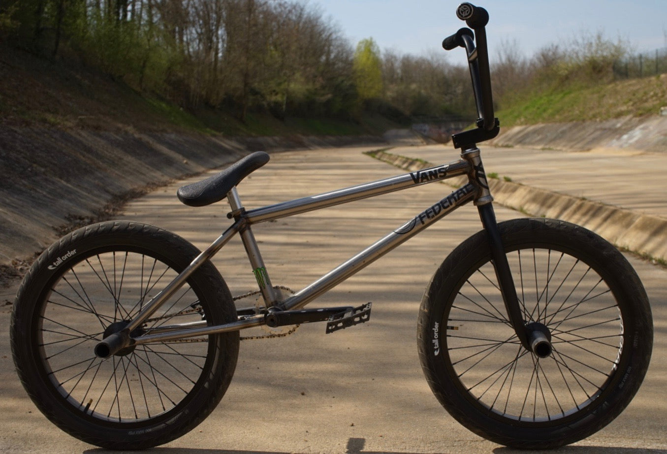 Kevin Kalkoff Federal BMX Bike Check