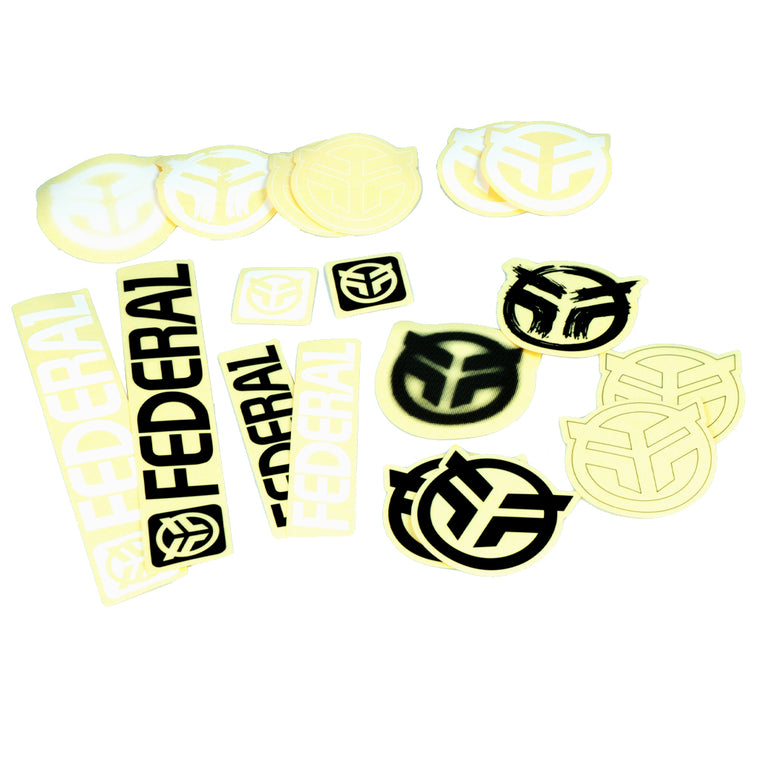 Federal 18pc Sticker Pack
