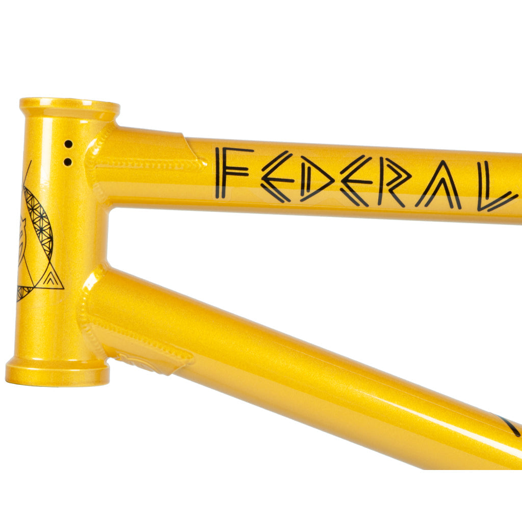 Federal Perrin ICS2 Frame - Gloss Gold | BMX