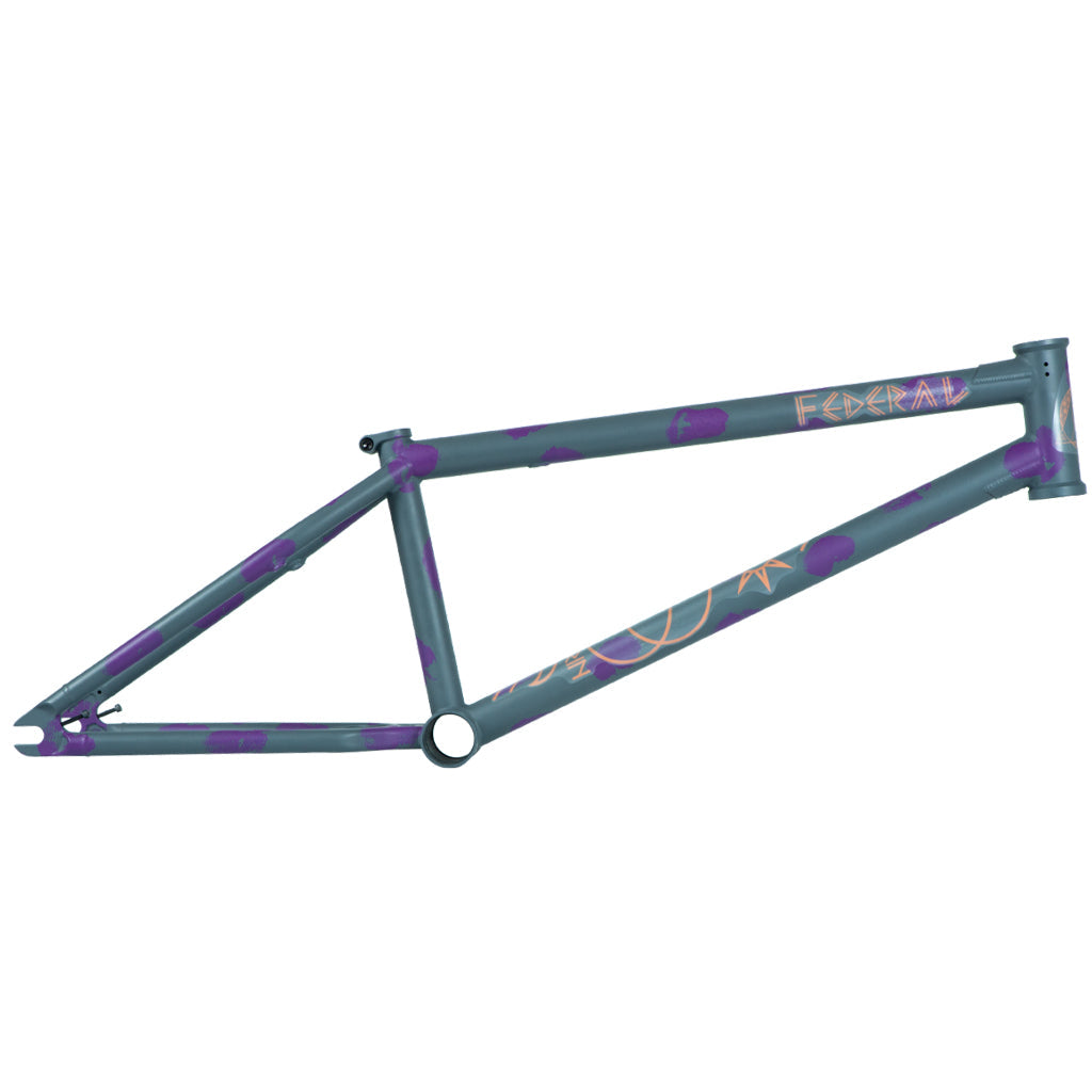 Federal Perrin ICS2 Frame - Matt Grey / Purple Patina | BMX