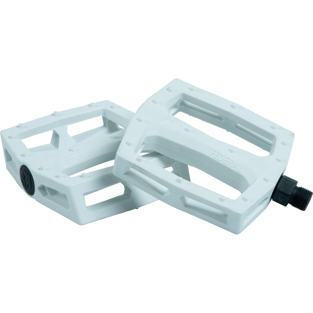 Federal Command Plastic Pedal - White 9/16"