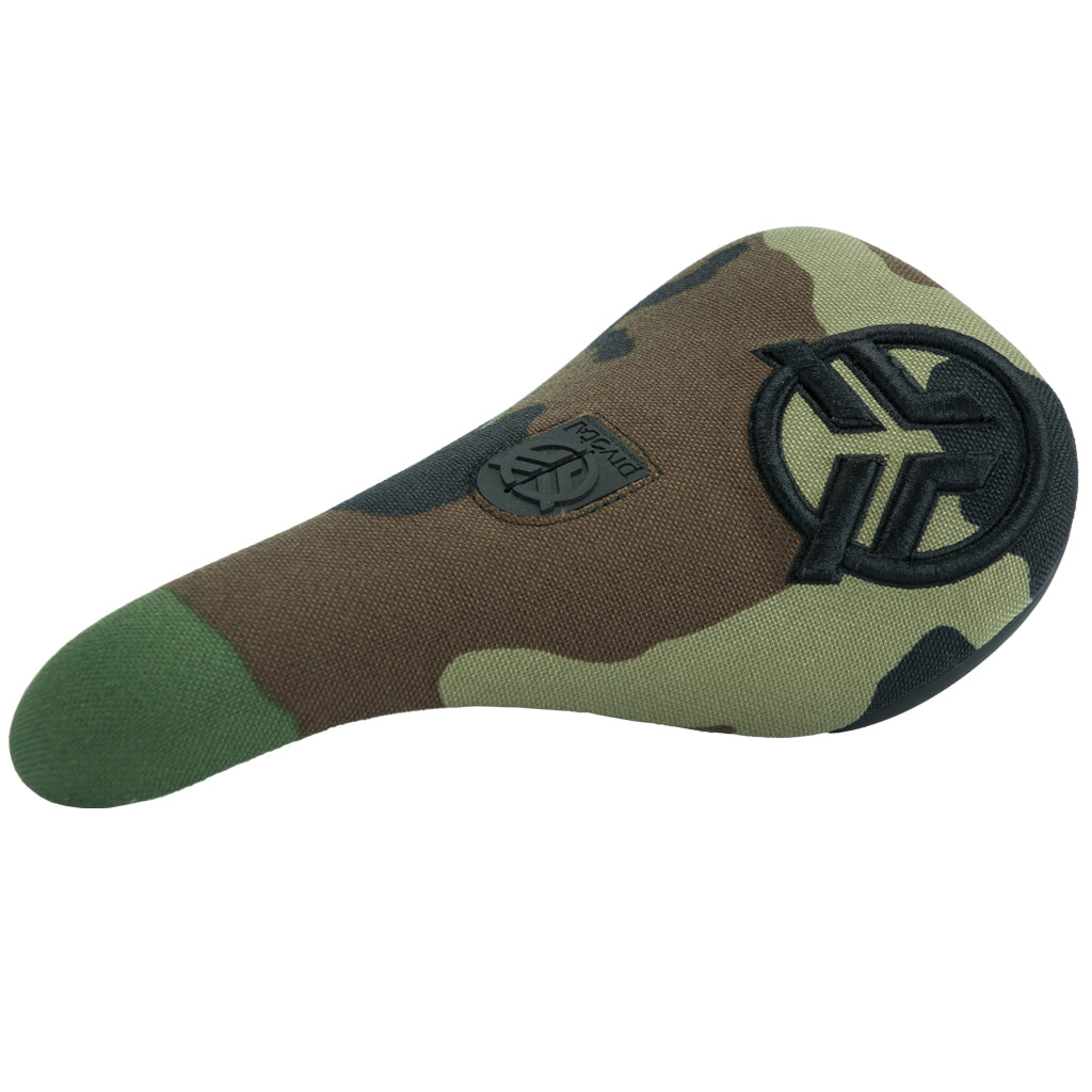 Federal Slim Pivotal Logo Seat - Camo With Raised Black Stitching | BMX