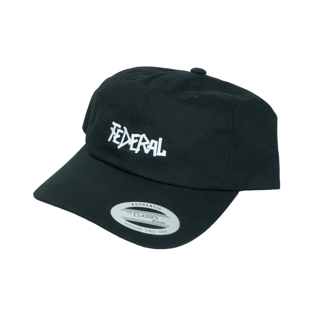 Federal Dad Cap - Black