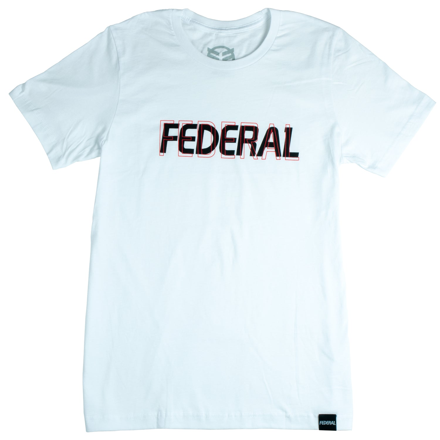 Federal Double Vision T-Shirt - White | BMX