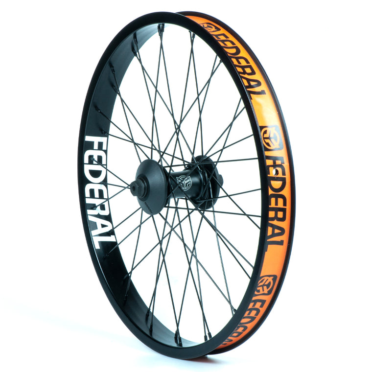 Federal Stance Pro Front Wheel With Guards And Butted Spokes - Black 10mm