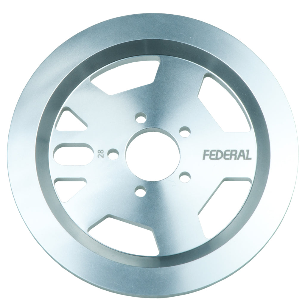 Federal AMG Guard Sprocket - Silver | BMX