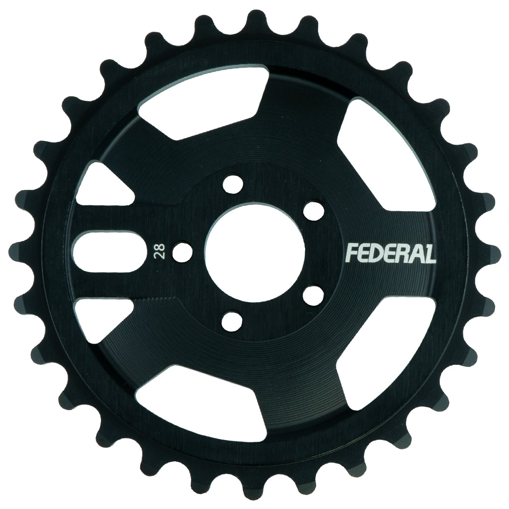 Federal AMG Sprocket - Black 28t | BMX