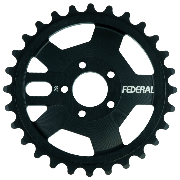 Federal AMG Sprocket - Black 25t | BMX