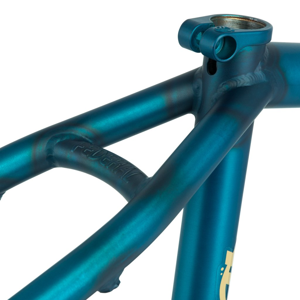 Federal Perrin ICS Frame - Matt Clear Teal - Investment Cast Seat Stay