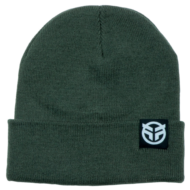Federal Logo Beanie - Olive Green