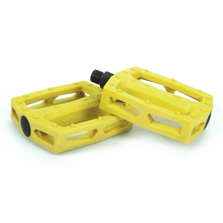Federal Command Plastic Pedal - Yellow 9/16