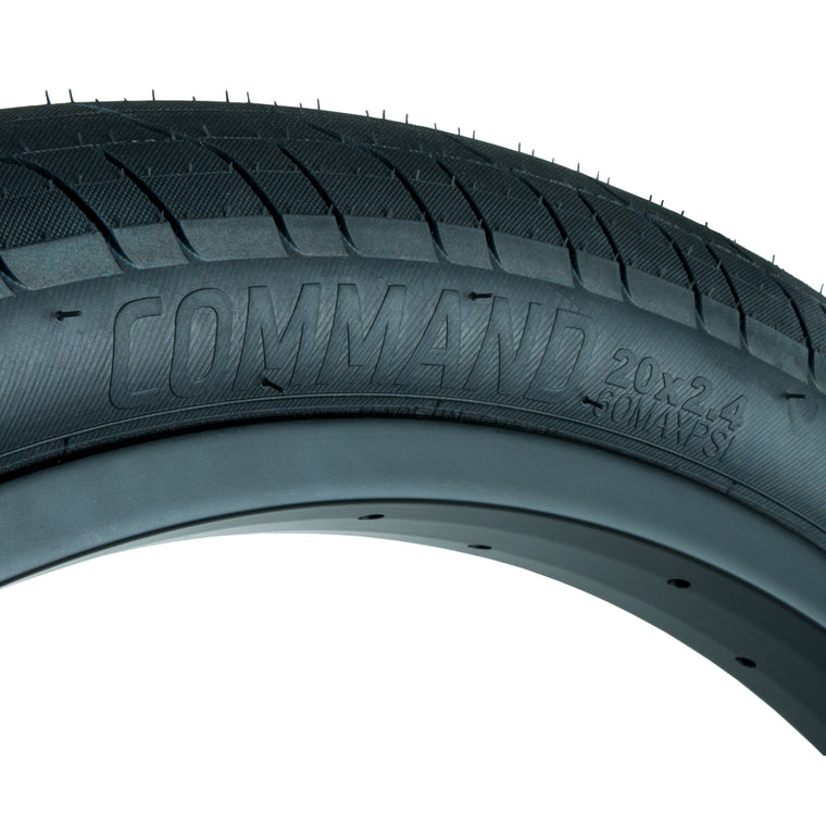 Federal Command LP Tyre - Black 2.40"