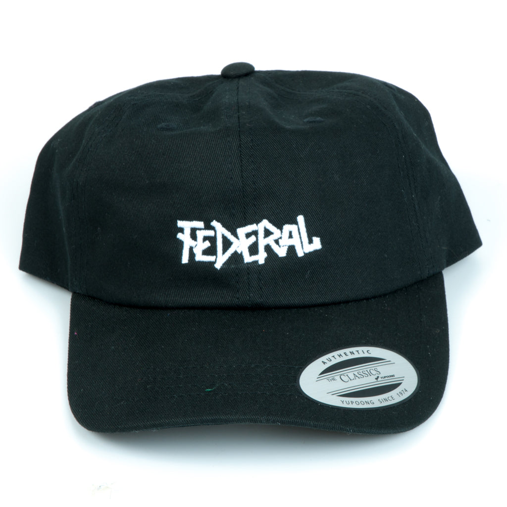 Federal Dad Cap - Black | BMX