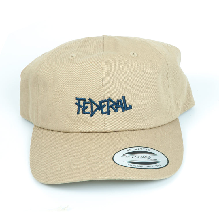 Federal Dad Cap - Khaki | BMX