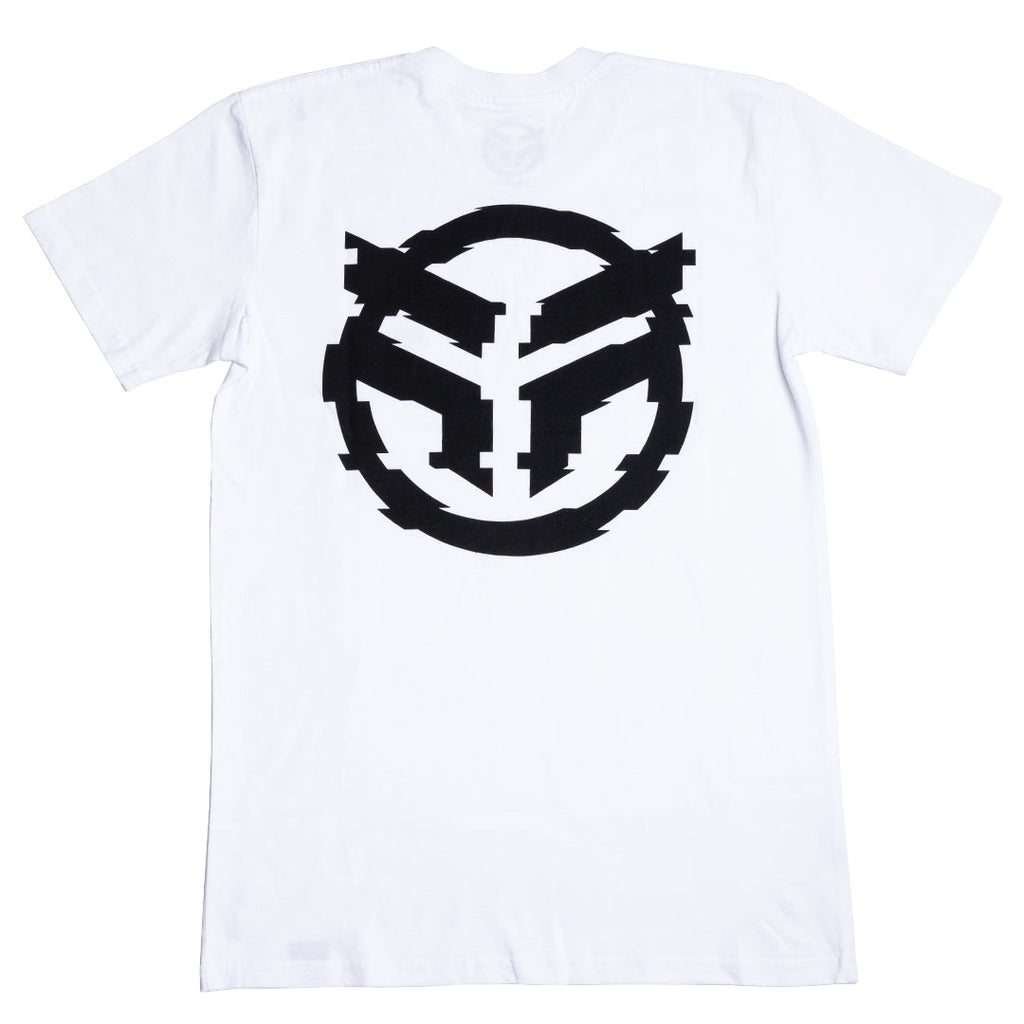 Federal Glitched T-Shirt - White
