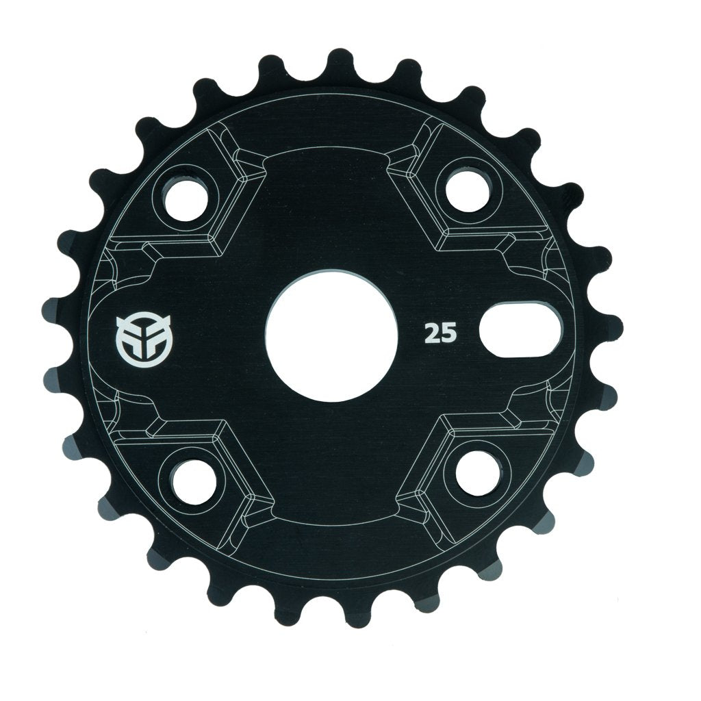 Federal Impact Guard Sprocket - Black