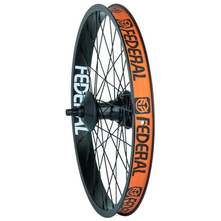 Federal LHD Stance Motion Freecoaster Wheel With Guards And Butted Spokes - Black 9 Tooth