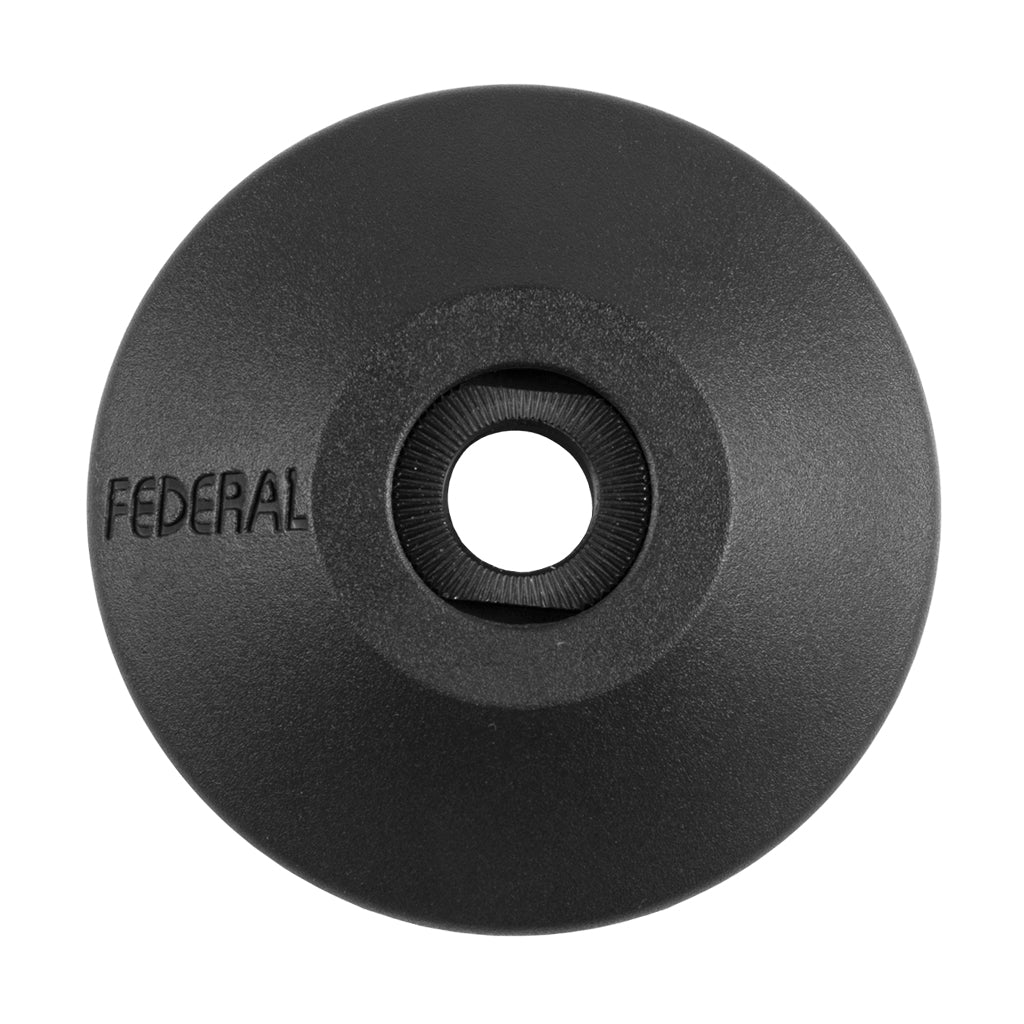 Federal Non Drive Side Plastic Hubguard With Freecoaster Cone Nut | BMX