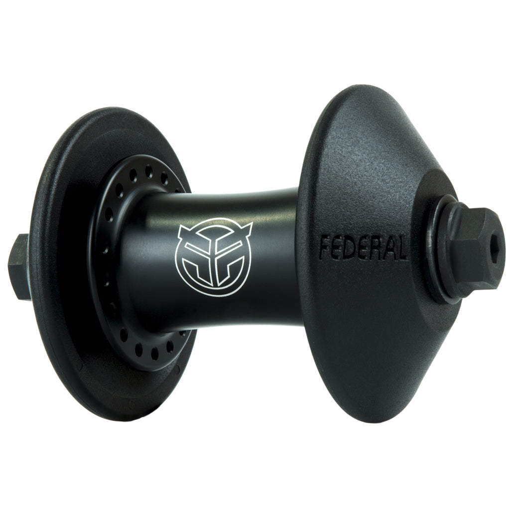 Federal Stance Pro Front Hub - Matt Black 10mm | BMX