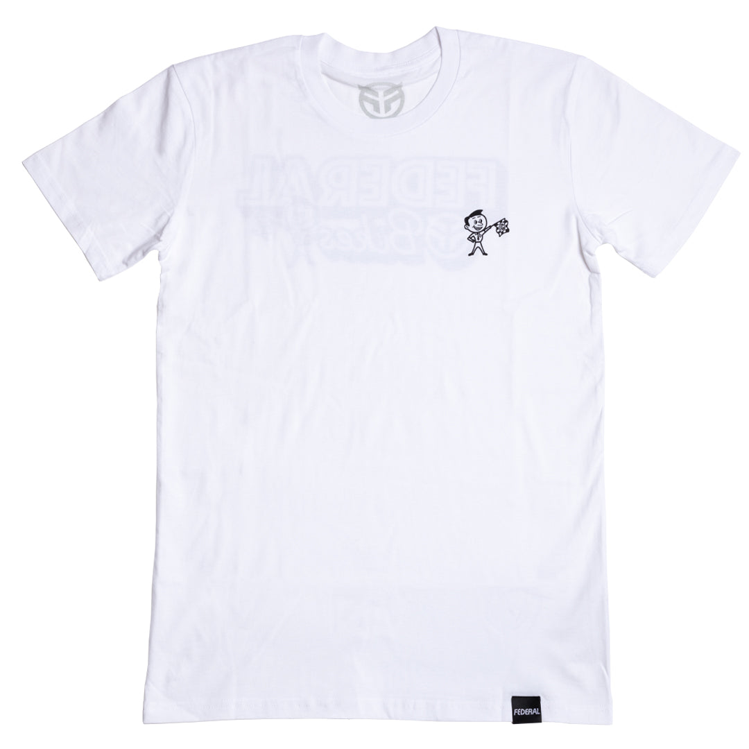 Federal Racer T-Shirt - White