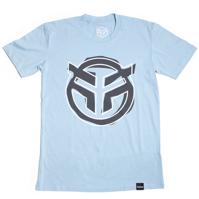 Federal Sketch T-Shirt - Pale Blue