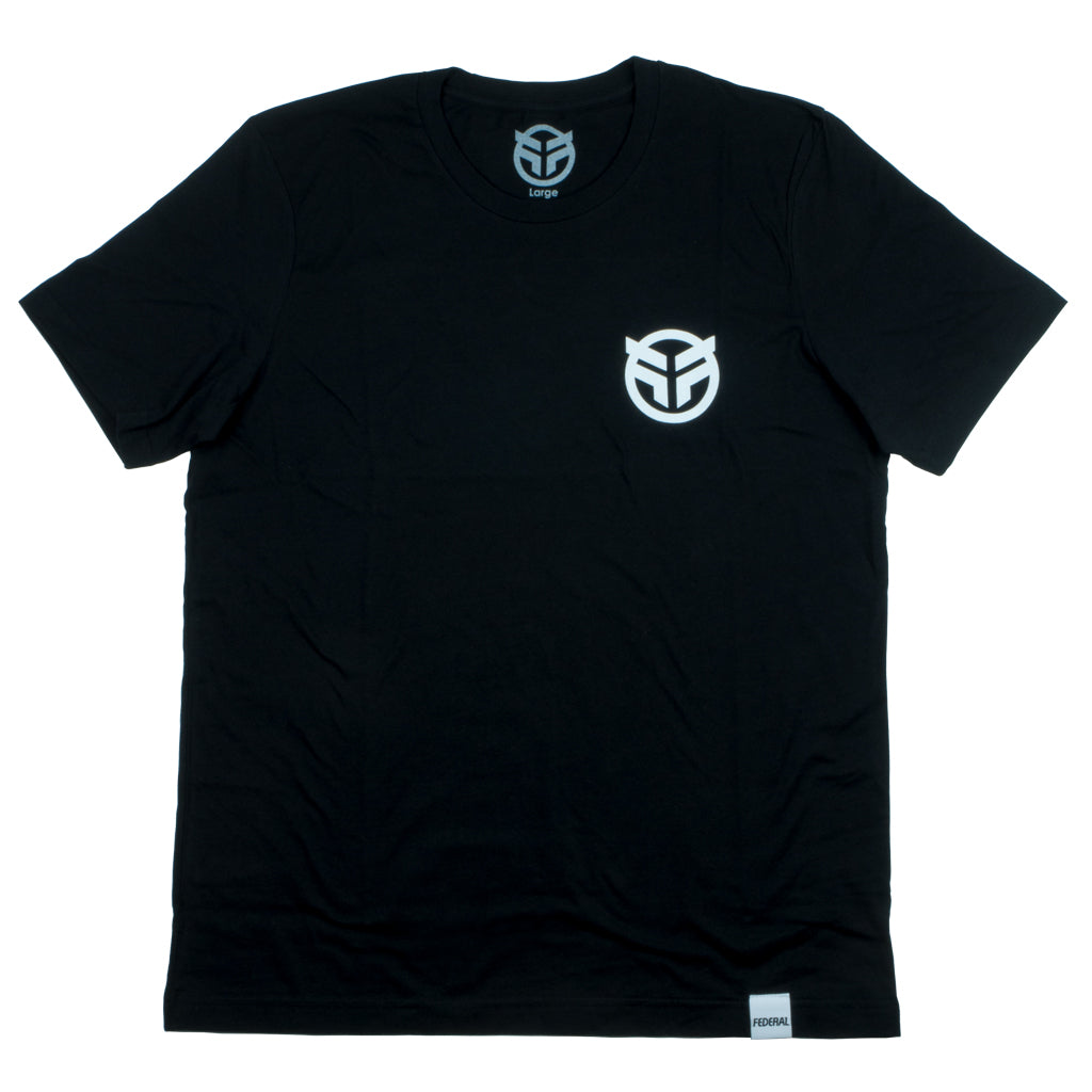 Federal Small Logo T-shirt - Black
