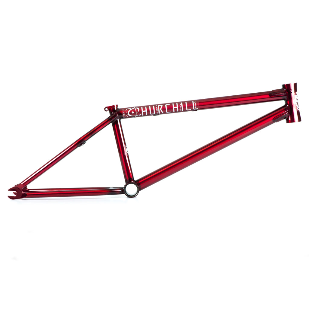 Federal BMX Stevie Churchill 2 Frame Clear Red