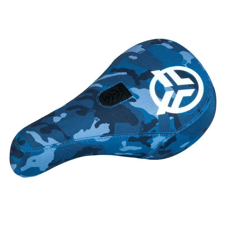 Federal Mid Pivotal Logo Seat - Blue Camo With White Logo