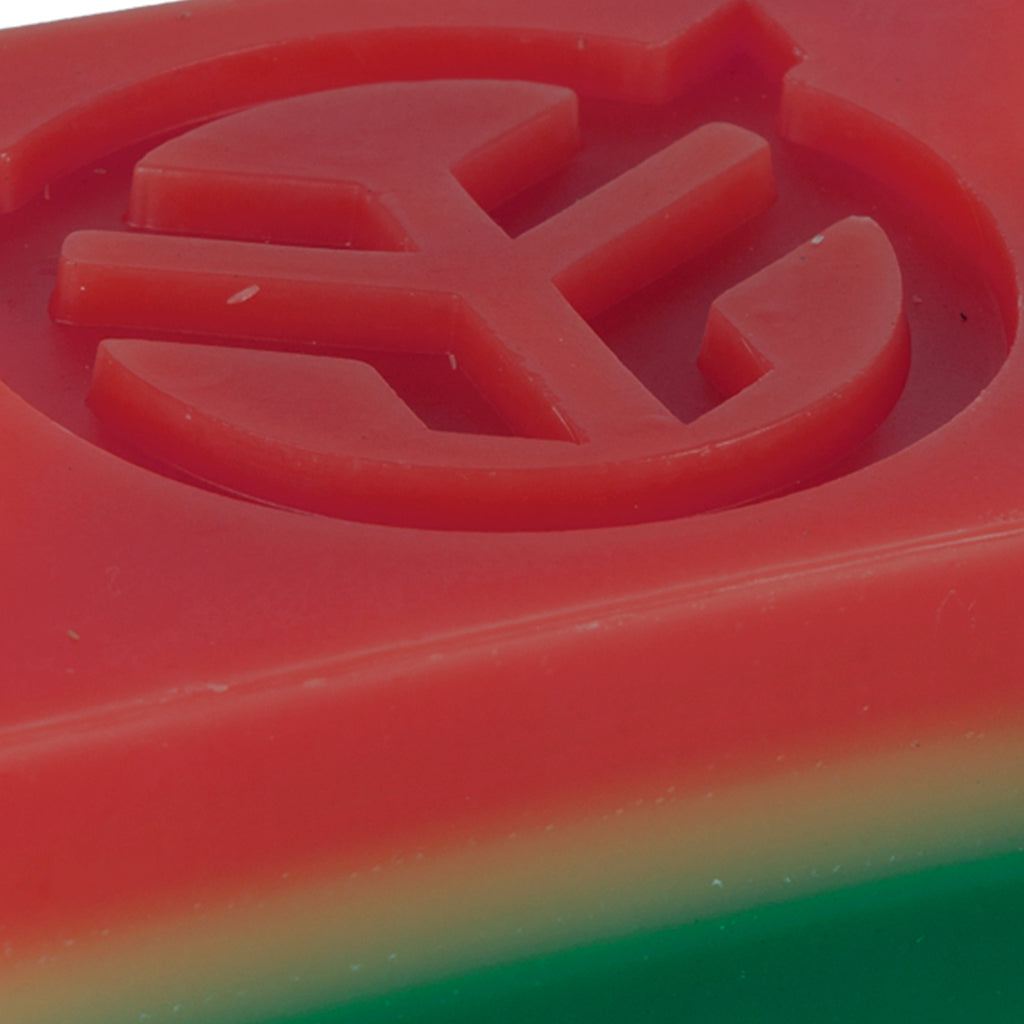 Federal Wax Block With Box - Rasta | BMX