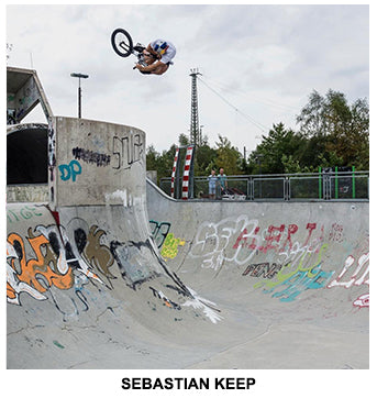 Tall Order BMX Team - Sebastian Keep