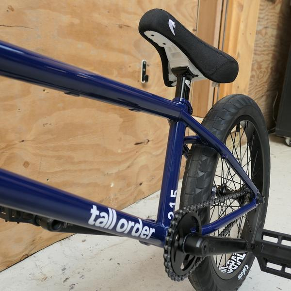 Tall Order 215 Complete Bike - Gloss Deep Blue With Black Parts