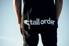 Tall Order Bottom Logo T-shirt - Black
