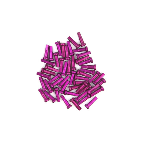Primo Alloy Spoke Nipples (Pack Of 50) - Purple