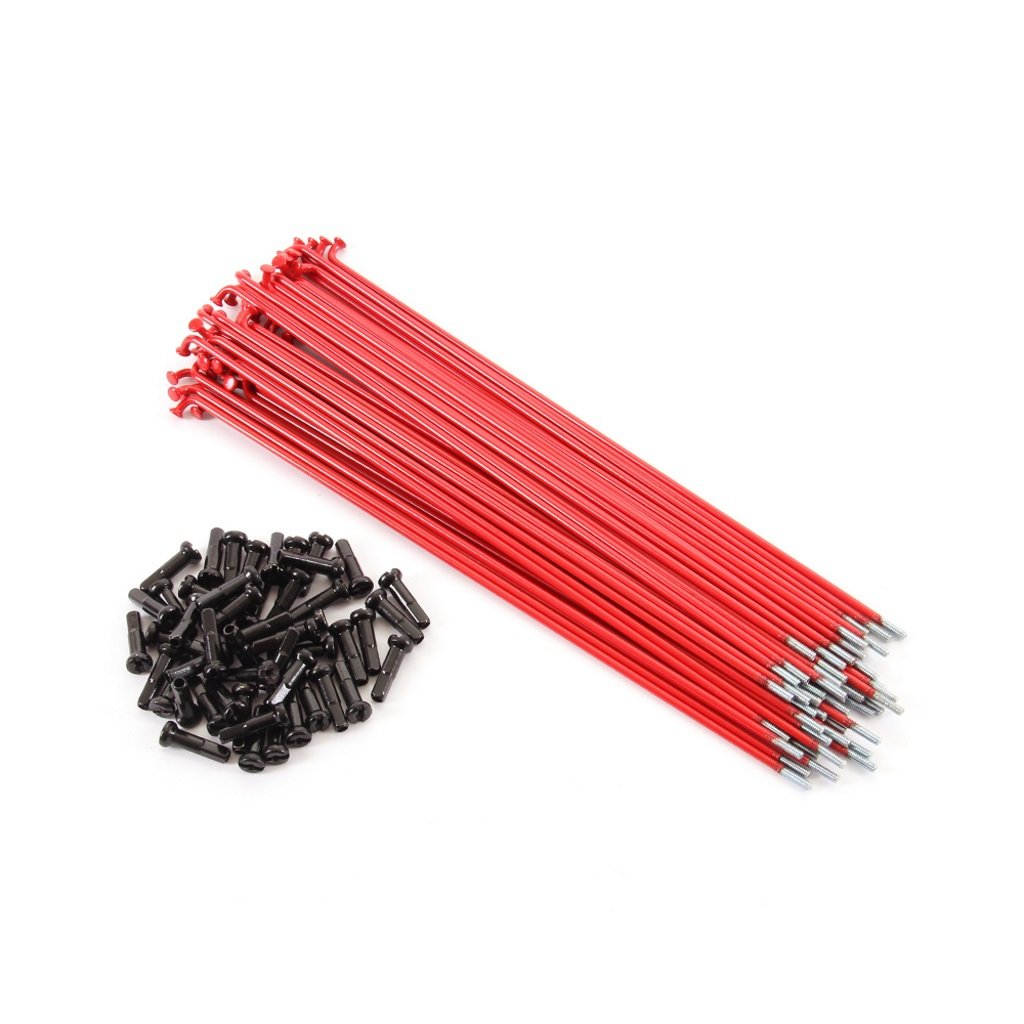 Primo Forged Spokes (Pack Of 50) - Red