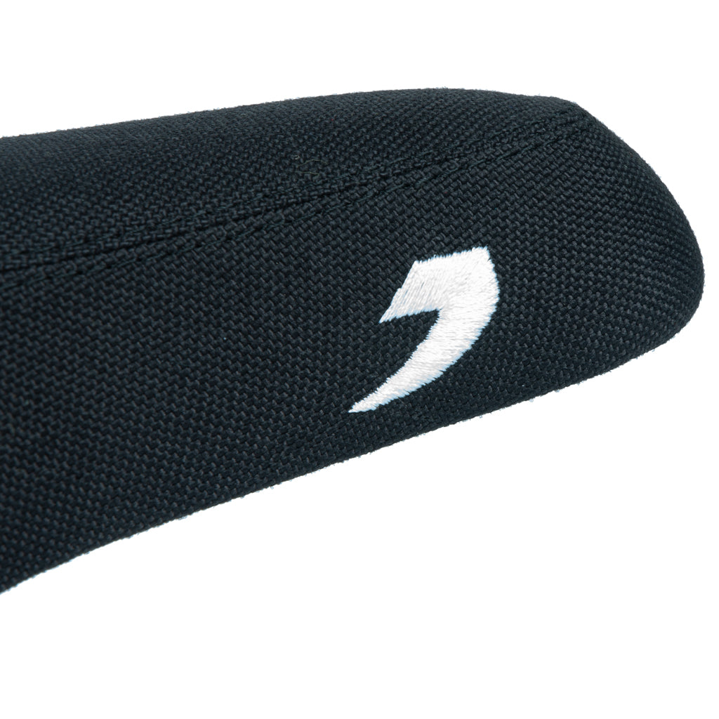 Tall Order 1 Combo Seat - Black With White Embroidery | BMX