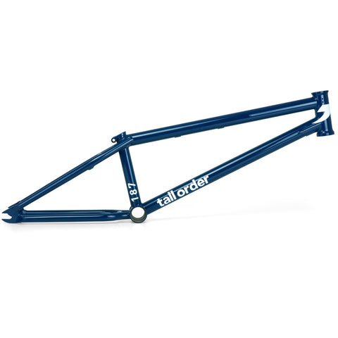 Tall Order 187 Frame - Gloss Deep Blue | BMX