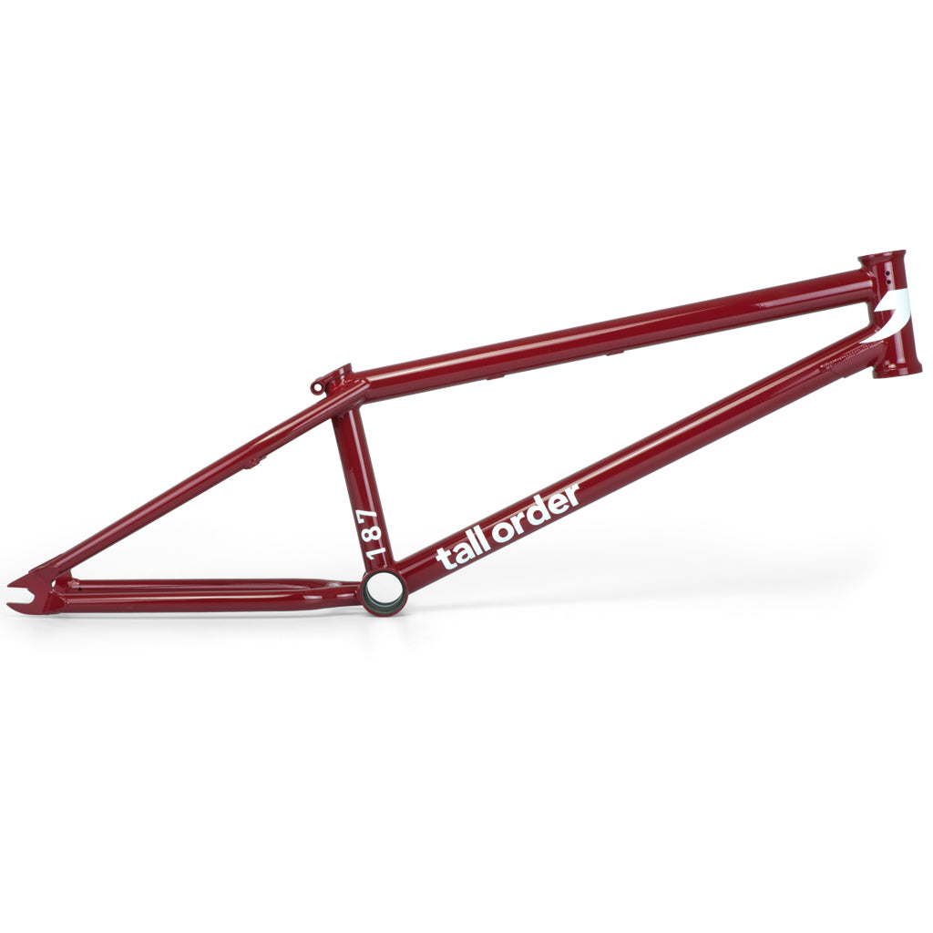 Tall Order 187 Frame - Gloss Red | BMX