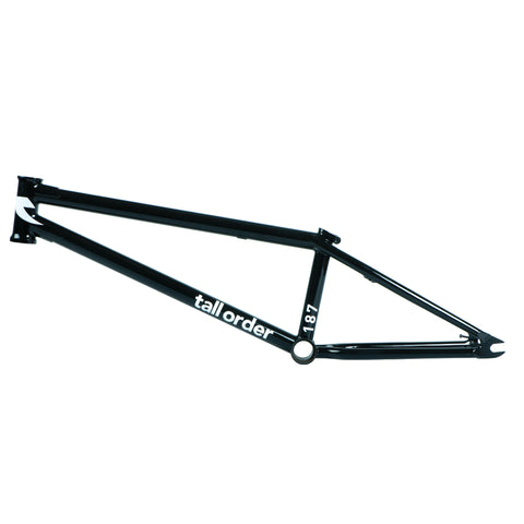 Tall Order 187 V3 Frame - Gloss Black
