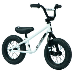 Tall Order Small Order Balance Bike - Gloss White With Black Parts 12"