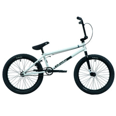 Tall Order Flair Bike - Gloss White With Black Parts 20.6"